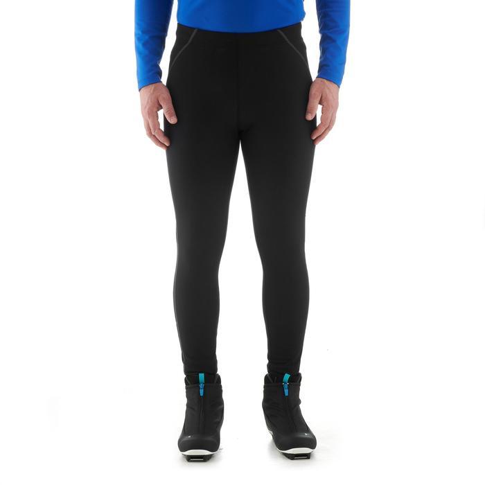 Legging langlaufen XC S 100 voor heren zwart