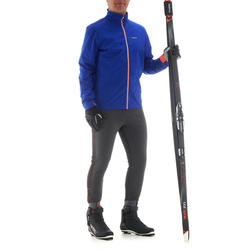 Collant de ski de fond homme coupe-vent XC S TIGHT 500 noir