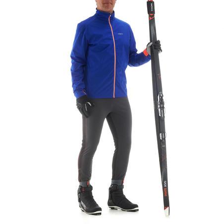 Collant de ski de fond homme coupe-vent XC S TIGHT 500 noir