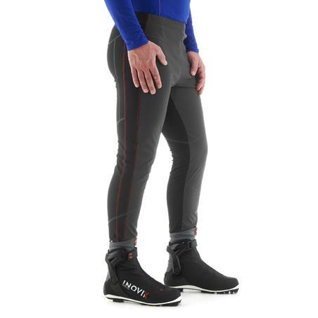 XC S TIGHT 500 Men's Cross-Country Skiing Leggings - Black