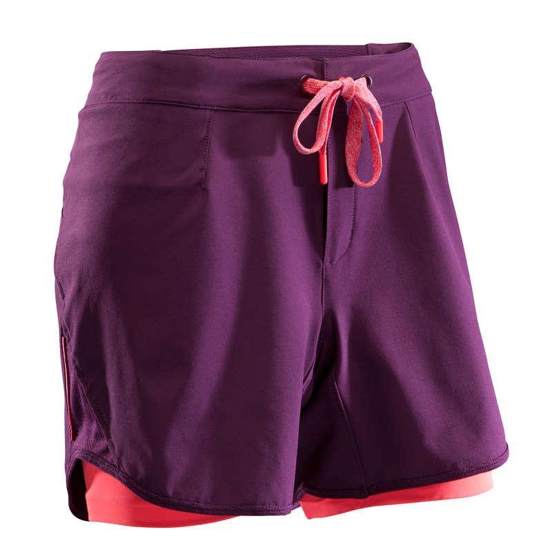 W WARM WEATHER ST MTB APPAREL Clothing - ST 500 Women's Padded MTB Shorts - Blue ROCKRIDER - By Sport