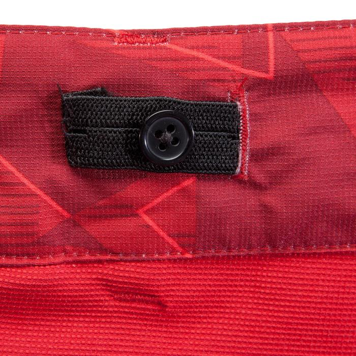 Kurze Radhose MTB-Shorts 500 Herren rot