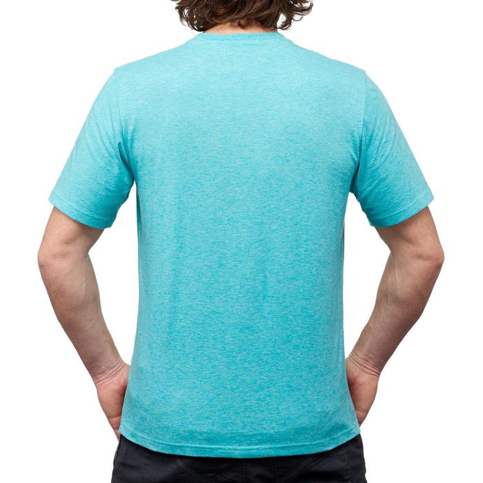 Tee shirt randonnée nature homme NH500 chiné - 1349932