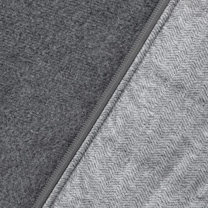 Jersey de senderismo en la naturaleza hombre NH500 Hybrid gris
