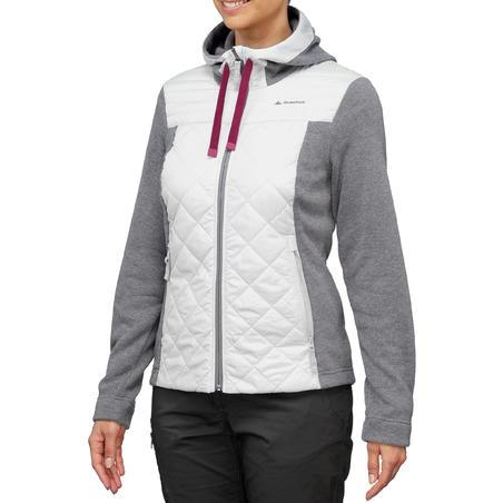 Women's Country Walking Sweatshirt NH100 Hybrid