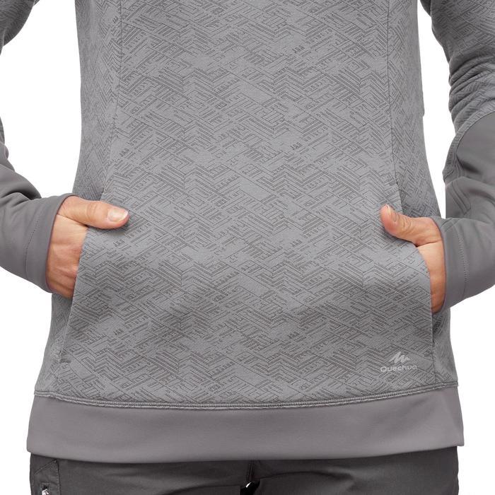 Wandeltrui vrije natuur dames NH500 grijs met opdruk