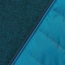 Wandeltrui voor heren NH500 Hybrid turquoise
