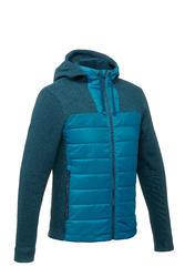 tricot randonnée nature homme NH500 Hybride turquoise