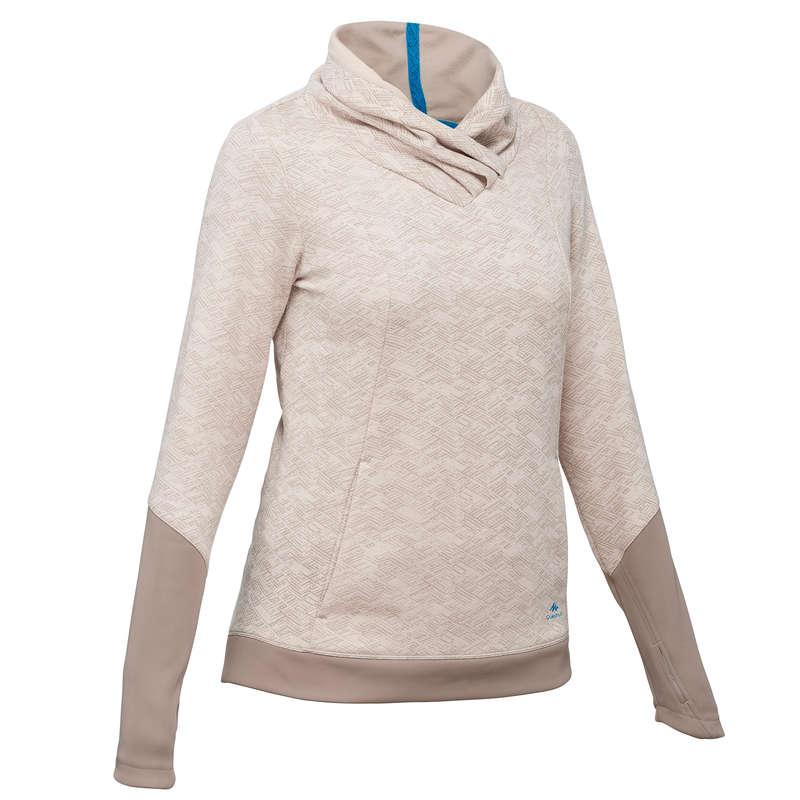 Női természertjárás pulóver (jumper) Túrázás - Női pulóver NH500  QUECHUA - Női túraruházat