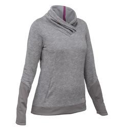 Pullover Naturwandern NH500 Damen grau