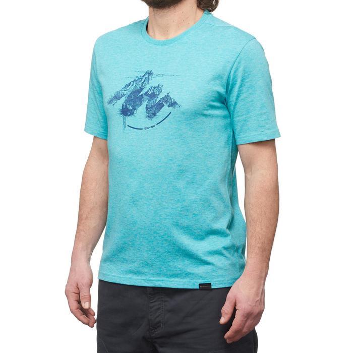 Tee shirt randonnée nature homme NH500 chiné - 1349960