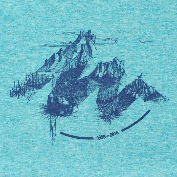 Tee shirt randonnée nature homme NH500 chiné - 1349964