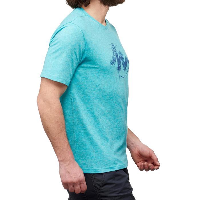 Tee shirt randonnée nature homme NH500 chiné - 1349975