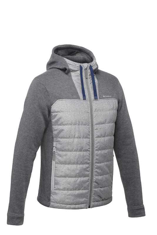 NH500 Men's Hiking Pullover - Grey