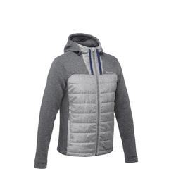 NH500 Hybrid Men's Nature Hiking Pullover - Grey