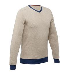 NH150 男款套頭健行毛衣-海軍藍