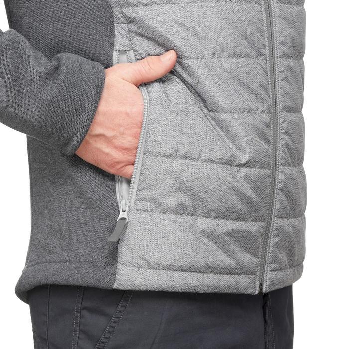 NH500 Hybrid Men's Nature Hiking Pullover - Grey