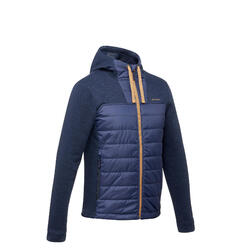 NH500 Hybrid Men's Hiking Pullover - Navy