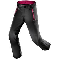 Pantalon de randonnée enfant MH 550 noir