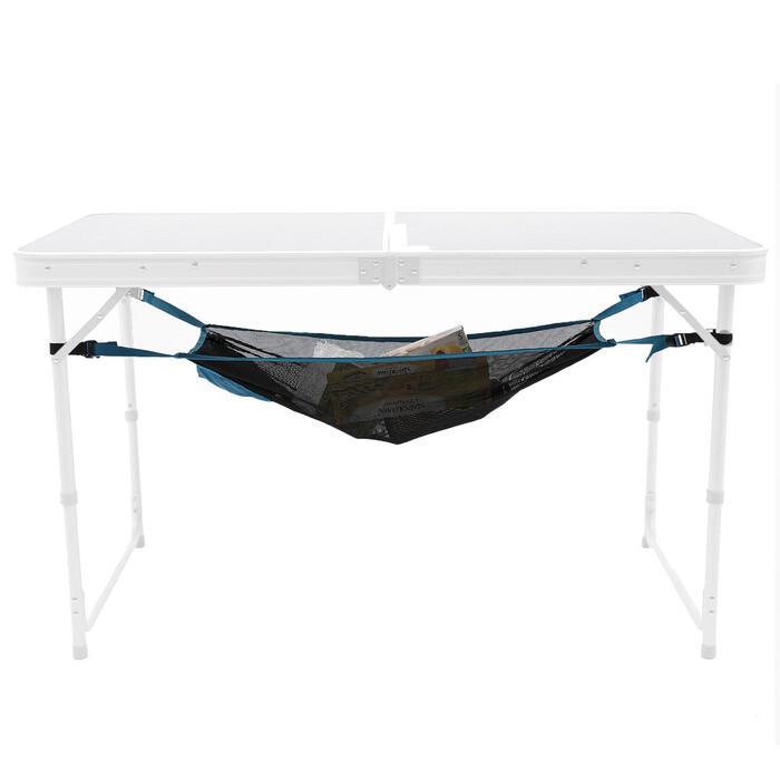 FILET DE RANGEMENT POUR TABLE DE CAMPING