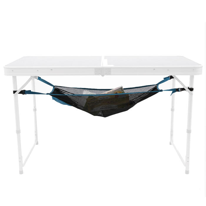 Universeel opbergnet voor onder campingtafel