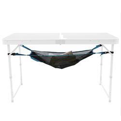Rete stoccaggio sotto tavolo campeggio