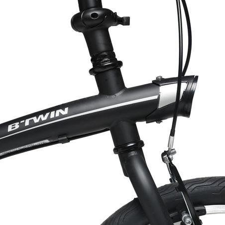 Tilt 100 20in Folding Bike - Black