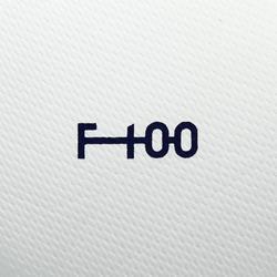 Fußball F100 Hybrid Größe 3 weiß/blau