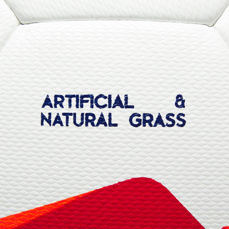 F100 Hybrid Size 4 Football - White/Red