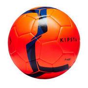 Oranžna in modra nogometna žoga F100 Hybrid (velikost 5)