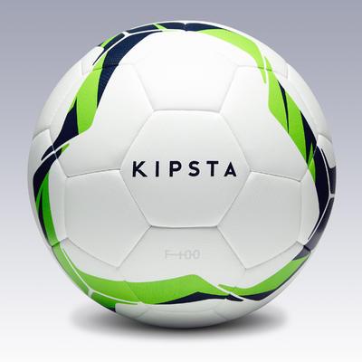 כדורגל F100 Hybrid מידה 5 - לבן/ ירוק