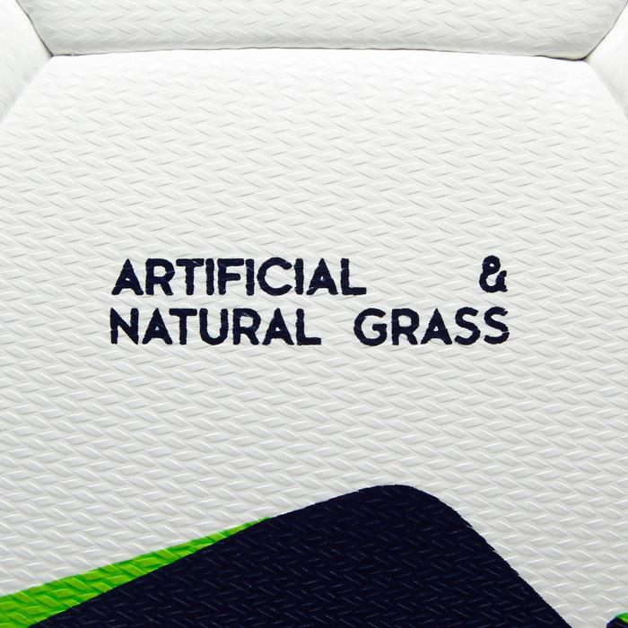 Voetbal F100 hybride maat 5 wit