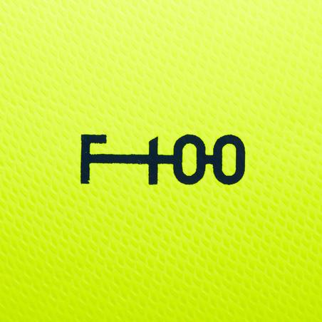Гібридний м'яч F100, розмір 5 - Жовтий