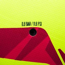 Voetbal F100 hybride maat 4 geel