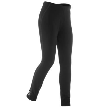 Kids' Cross-Country Skiing Warm Tights XC S 100 - Black