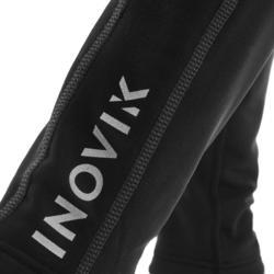 Collant chaud de ski de fond noir XC S TIGHT 100 enfant