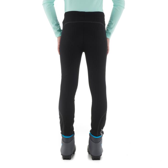 Collant de ski de fond junior XC S TIGHT 100 noir