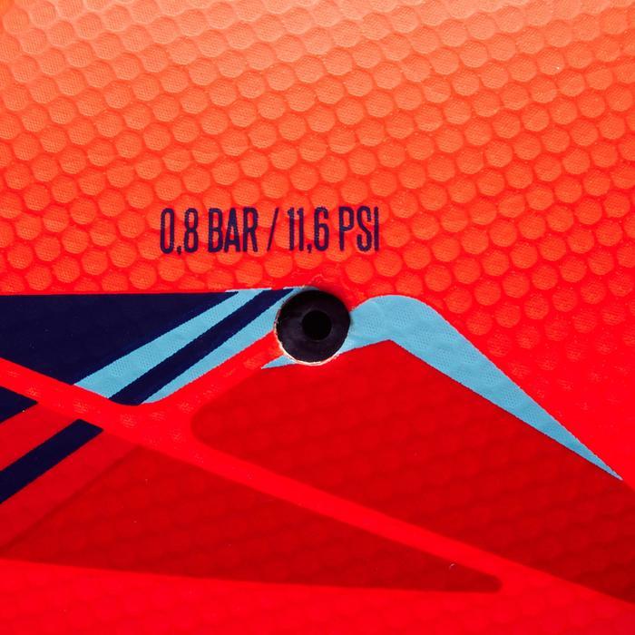 Voetbal F500 hybride maat 5 rood