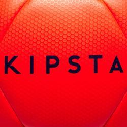 Balón de Fútbol Kipsta F500 Híbrido talla 5 rojo/azul