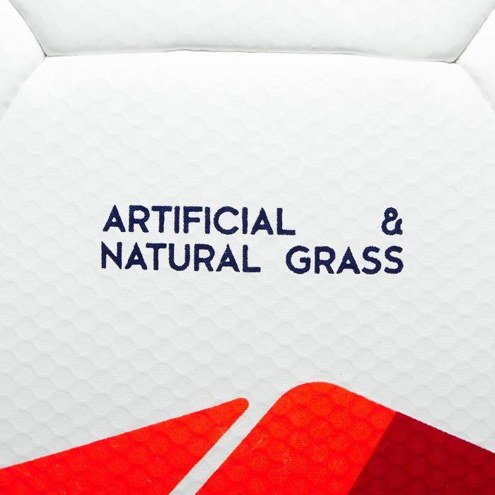 Balón de Fútbol Kipsta F500 Híbrido talla 5 blanco rojo