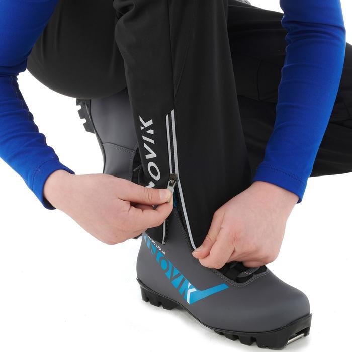 Langlaufbroek voor kinderen XC S Pant 500 zwart