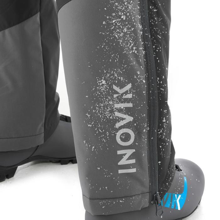 Pantalón Esquí de Fondo CÁLIDO Inovik 100 niños gris