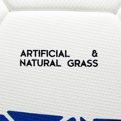 Ballon de soccer thermocollé F900 FIFA Pro taille 5 blanc vert bleu