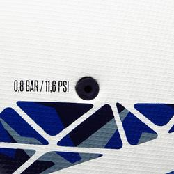 Balón de Fútbol Kipsta F900 FIFA Pro termosellado talla 5 blanco verde azul