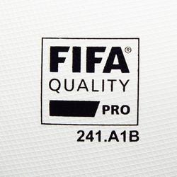 Balón de fútbol F900 FIFA PRO termosellado talla 5 blanco verde azul