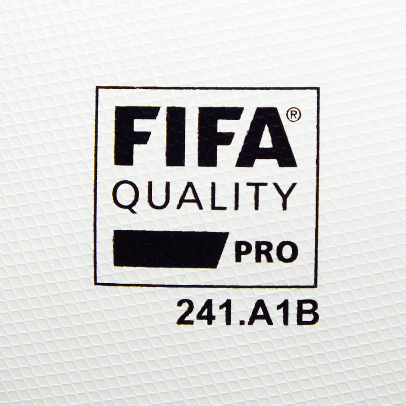 Football ball Size 5 F900 FIFA PRO Thermobonded - White/Green/Blue