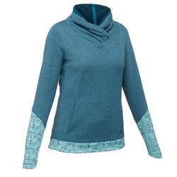 Jersey Montaña Senderismo Quechua NH500 Mujer Azul Turquesa