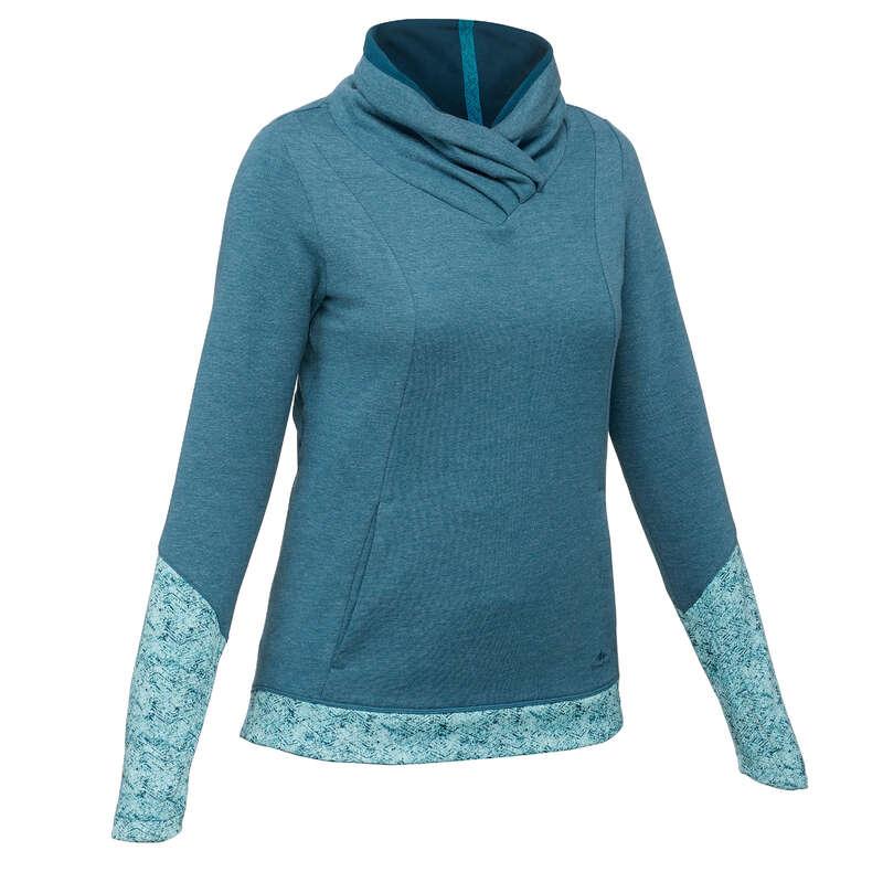 N#i természetjárás pulóver (jumper) Túrázás - Női pulóver NH500  QUECHUA - Túrázás
