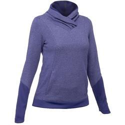 Pullover Naturwandern NH500 Damen blau/lila