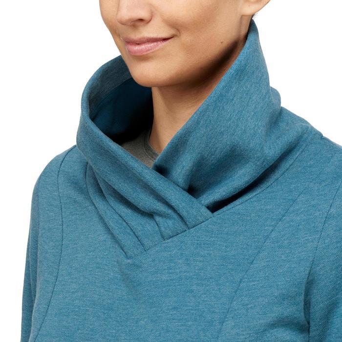 女款健行立領針織衫NH500
